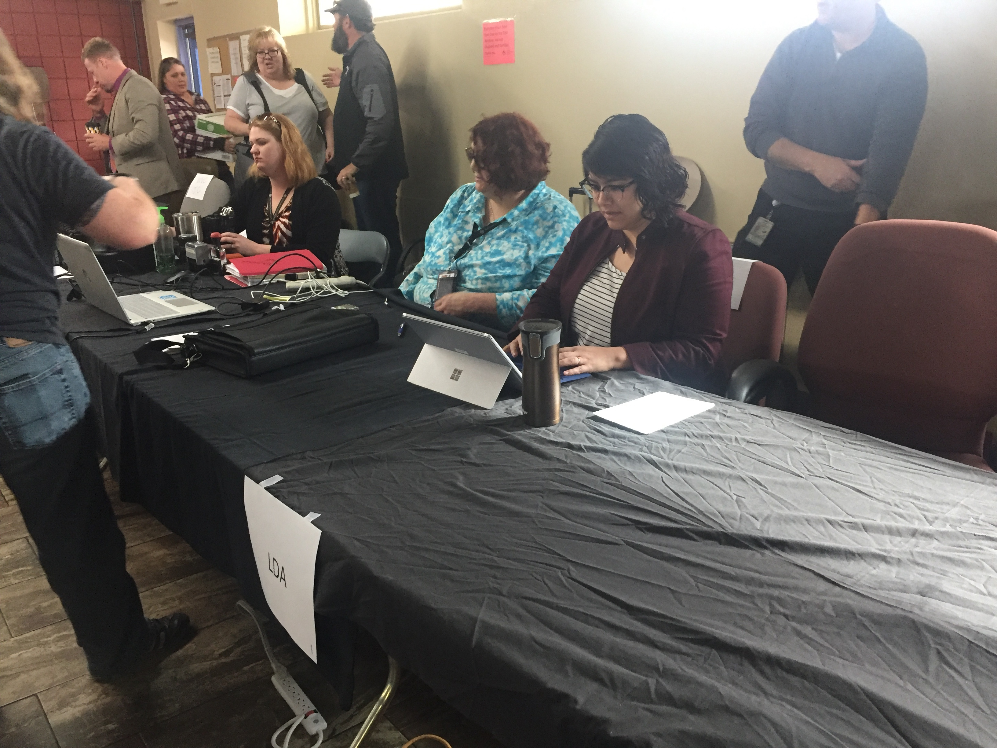 SLLDA attorneys help out at Expungement Day.